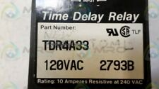 Ssac Tdr4A33 Time Delay Relay *Used*