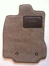 Jaguar XJS Convertible Beige Replacement Floor Mats- Pad- Premium Edge 1988-1991