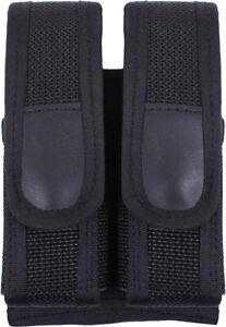Black Tactical Dual Magazine Gun Ammo Pouch