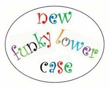 FMM Funky Alphabet Lower Case Tappit Fondant Icing Cutter Groovy Cake Decorating