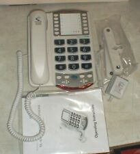 Ameriphone Clarity Professional Xl-40 Amplified Corded Telephone Lighted Keypad