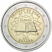2 Euro Spain 2007 * Treaty of Rome * Unc