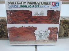 Tamiya Model Kit Military Miniatures 1/35 Brick Wall Set