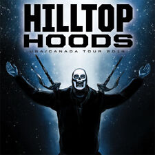 HILLTOP HOODS STICKER, 9.5cm x 9.5cm, Decal, Magnet Available, Free Aus Post