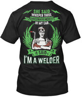Funny Welding T S And Welder Hanes Tagless Tee T-Shirt