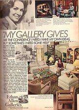 1980 Ethan Allen Furniture Store Retro Advertisement Ad Vintage VTG 80s