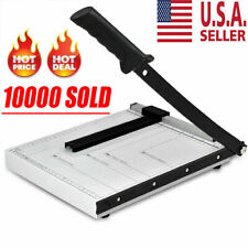 Paper Cutter Metal Base Guillotine Page Trimmer Scrap Booking 12 A4 To B7