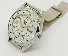 seiko 5 automatic men's railway time 6309 day/date vintage japan watch run g