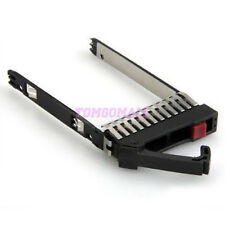 2.5inch SAS SATA HDD Hard Drive Tray Caddy + Screws for HP Hard Drives DL380 tm