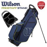Wilson ProStaff 4-WAY Golf Carry Stand Bag Blue/Green 4.1lbs - NEW! 2020