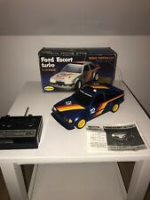 nikko remote control car 1985 Ford Escort Turbo Blue With Instructions Rare