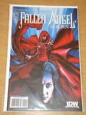 FALLEN ANGEL REBORN #1 IDW PUBLISHING VARIANT COVER RI PETER DAVID