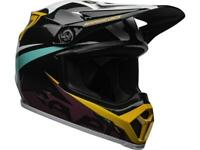 Casque Motocross BELL MX-9 MIPS SEVEN IGNITE AQUA NAVY