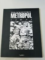 TED McKEEVER'S METROPOL Volume 5 GRAPHIC NOVEL 2002 1ST PRINT SOFTCOVER BOOK
