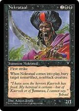 NEKRATAAL Visions MTG Black Creature — Human Assassin Unc