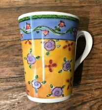 "SWEET SHOPPE BY SANGO SUE ZIPKIN #3024 CINNAMON SWIRL 4-3/8"" COFFEE MUG EUC"