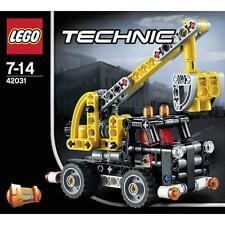 LEGO TECHNIC 2 IN 1  CAMION CON GRU CHERRY PICKER  7-14  ANNI  ART 42031