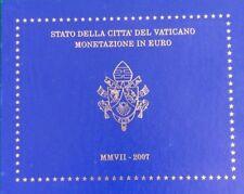 manueduc  Vaticano 2007  CARTERA OFICIAL BENEDICTO XVI BU Las  8 Monedas