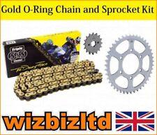 Kit de cadena y piñones para motos Suzuki