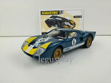 "Slot SCX Scalextric Altaya ""Coches Miticos"" Ford GT 40 #6 Limited Edition"