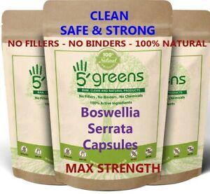 Boswellia Serrata Extract Capsules Effective 6000mg Vegan Best Boswellia 5greens