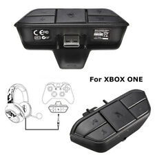 For Xbox One Controller Headset Stereo 3.5mm Audio Adapter Enables Mic Chat Game