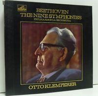 KLEMPERER the nine beethoven symphonies LP EX/EX-, SLS 788/9, vinyl, uk, ED1 hmv