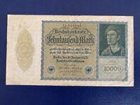 GERMANY - 10 000 MARK 1922 -  VERY  FINE