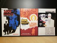 100 BULLETS Lot of 3 TPB COMIC BOOK LOT VOL #1, #4 & #6  Azzarello DC VERTIGO