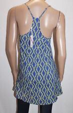 SUPRE Brand Blue Printed Swing Dress Size 6 BNWT #SU32