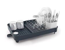 Joseph Joseph Expandable-Extend Dish Drying Rack Cutlery Drainer Drain Tray Grey