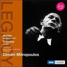 Mahler/Debussy: Symphony No 3; La Mer, New Music