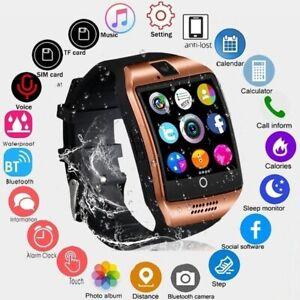 Smartwatch Mit SIM Slot+Kamera Für Smartphone (Iphone, Samsung, Huawei)