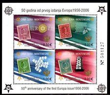 Montenegro Block 2A**  50 Jahre Europa Michel 20,00 (2359)