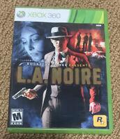 L.A. Noire (Microsoft Xbox 360, 2011) Complete X360