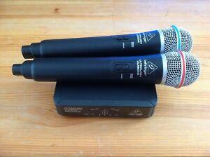 Behringer ULM302MIC Digitales Drahtlossystem Mikrofon Empfänger 2,4 GHz