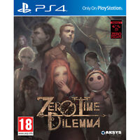 Zero Time Dilemma For PS4 (New & Sealed)