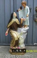 St. Theresa the Little Flower 63in Church Quality Statue Plaster ImportedTHIS IT