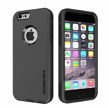 Iphone 6S Outer Box Comuter Case Heavy Duty Armor Hybrid Cover Protective Black