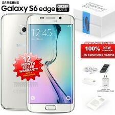 New Sealed Unlocked SAMSUNG Galaxy S6 Edge SM-G925F White Android Mobile Phone