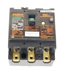 FUJI ELECTRIC EG53F 30A CIRCUIT BREAKER EG53F-30