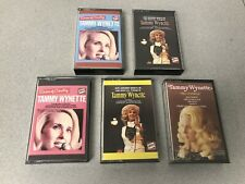 Tammy Wynette Tape Cassette's Queen of Country World No Charge Stand by your Man