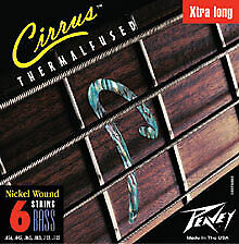 Peavey Thermal Fused CIRRUS BASS STRING 6XL For 6-String Bass Guitar 379280 New
