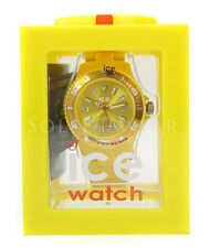 NEW Ice 102126 Solid Yellow Silicone Unisex Watch NO BOX
