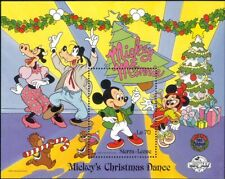Sierra Leone 1988 Disney/Christmas/Mickey/Dance/Cartoons/Animation 1v m/s ad1117