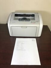 HP LaserJet 1020 Workgroup Laser Printer - Tested, Needs Toner