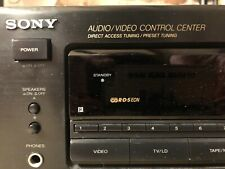 Sony receiver + Sony 5-fach CD-Wechsler + 2 Magnat Boxen