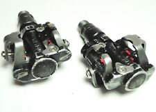 ASCENT TERRA BICYCLE DOUBLE SIDED ADJUSTABLE CLIPLESS PEDALS  9/16 X 20 TPI