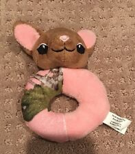 Pink Camo Camouflage Deer Plush Baby Infant Rattle Unique Gift Bass Pro