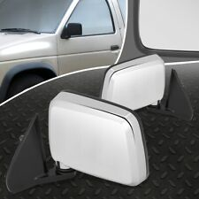 FOR 86-97 NISSAN D21 PICKUP PAIR OE STYLE MANUAL ADJUSTMENT SIDE DOOR MIRROR SET